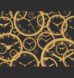 Clock background - isolated vector