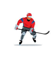 Hockey sign vector image