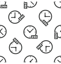 24h workhours pattern vector