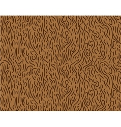Pattern in zigzag with brown line vector