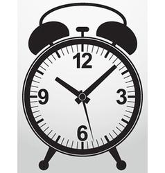 Alarm clock app icon vector image
