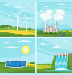 Environmental and ecology concept vector