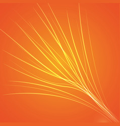 Orange bright background vector
