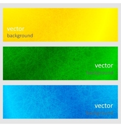 Colorful scratched vintage backgrounds vector