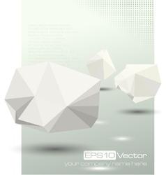 Abstract modern depth of field business design vector