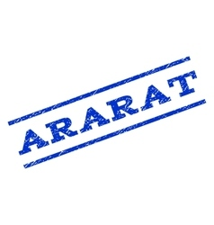 Ararat watermark stamp vector