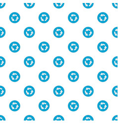 circular arrow pattern seamless vector image