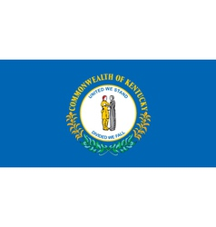 Kentucky Flag vector image vector image
