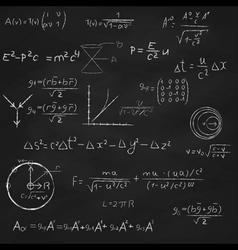 Science Board vector image