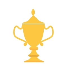 Cup trophy award icon graphic vector