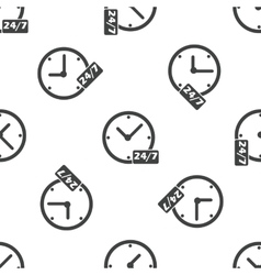 Overnight daily workhours pattern vector