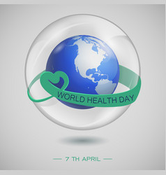 Bubble globe2 vector