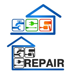 Home Repair vector image vector image