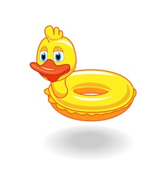 inflatableDuck vector image