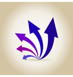 Abstraction arrow2 vector image