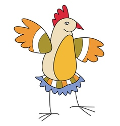 Chicken8 vector