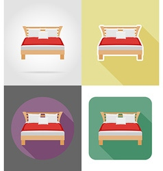 Furniture flat icons 28 vector