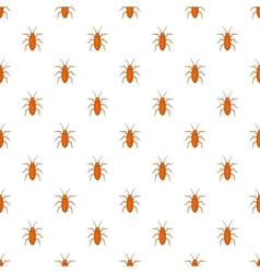 Cockroach pattern cartoon style vector