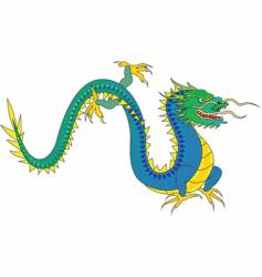 dragon illustration vector image