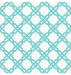 Islam geometric pattern seamless arabesque vector