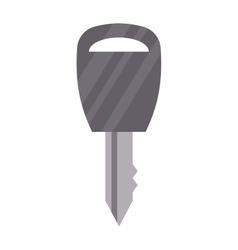 Modern flat key vector image