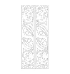 Pattern of textures vector