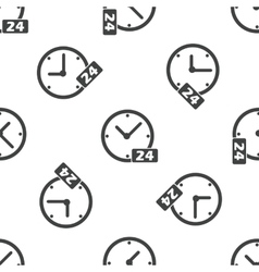 24 workhours pattern vector
