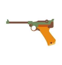 Gun icon cartoon vector