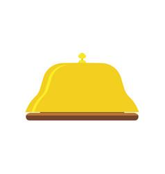 bell service icon hotel reception concierge sign vector image vector image