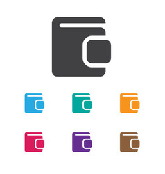 of game symbol on wallet icon vector image