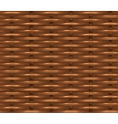 Wicker texture vector