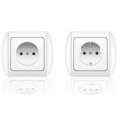 Electrical socket vector