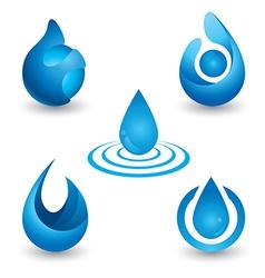 Water symbol vector