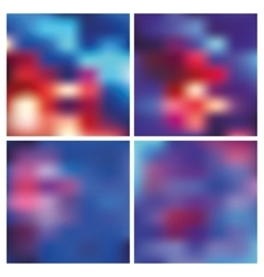 Abstract blurred backgroundsredblue vector