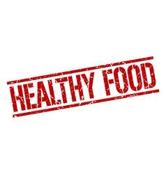 Healthy food stamp vector