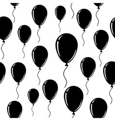 Balloon A seamless background vector image