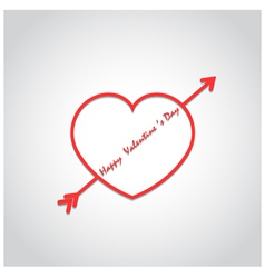Happy valentines day background vector