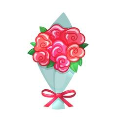 Cartoon of bouquet vector