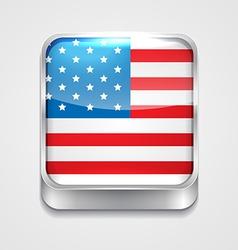 flag of united state vector image