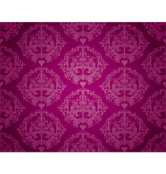 Seamless Wallpaper Pattern Purple vector image vector image