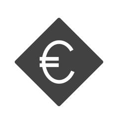 Euro symbol vector