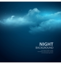 Night sky abstract background vector
