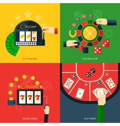 Casino Icon Flat vector image