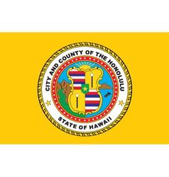 Honolulu City vector image vector image