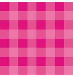 Seamless pink background - checkered pattern vector