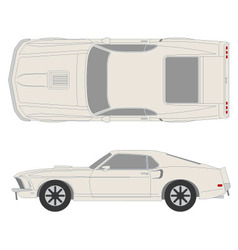 Ford mustang vector
