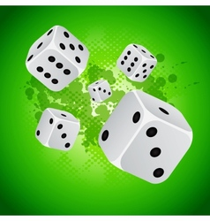 back casino vector image vector image