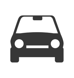 Car auto front vector