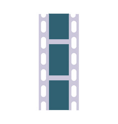 Celluloid film strip icon vector