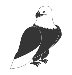 Hawk eagle theme design icon vector